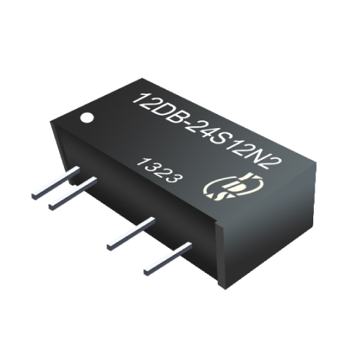 12DB Series 1W 3KV Isolation Continuous Protection DC-DC Converter
