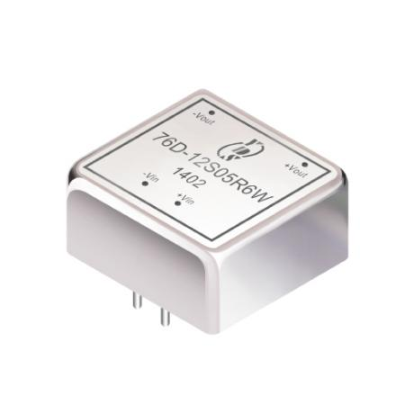 76D-6W Series 6W 1.5KV Isolation 2:1 DC-DC Converter